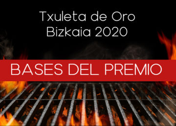 Txuleta de Oro Bizkaia 2020. Bases del Premio